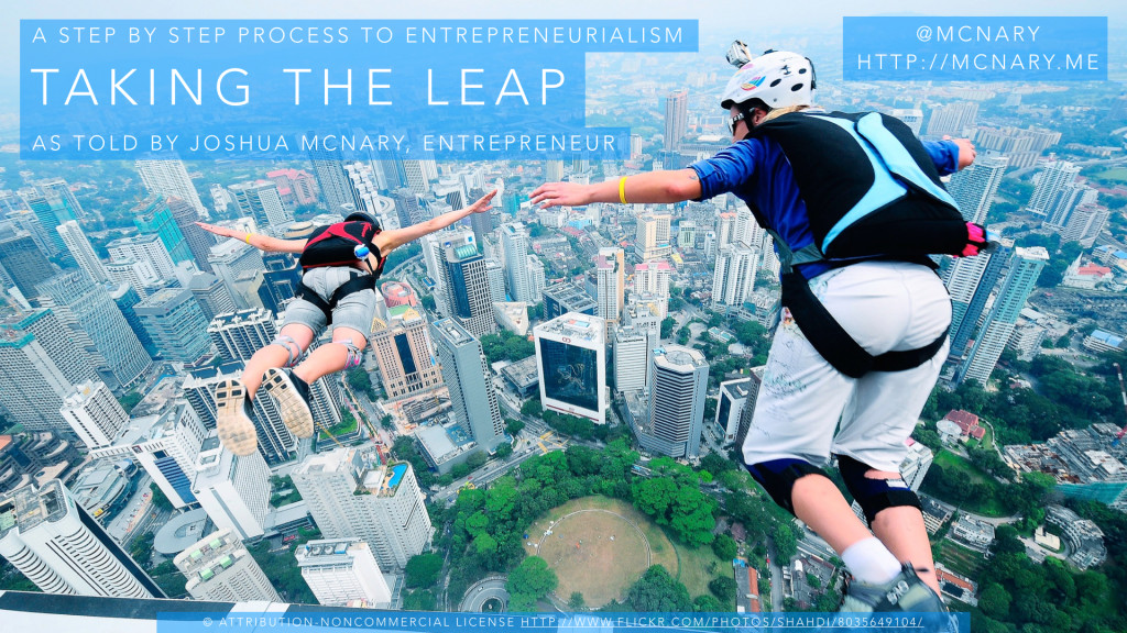 Taking The Leap Preview Slide