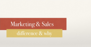 Speaking Page - Marketing and Sales