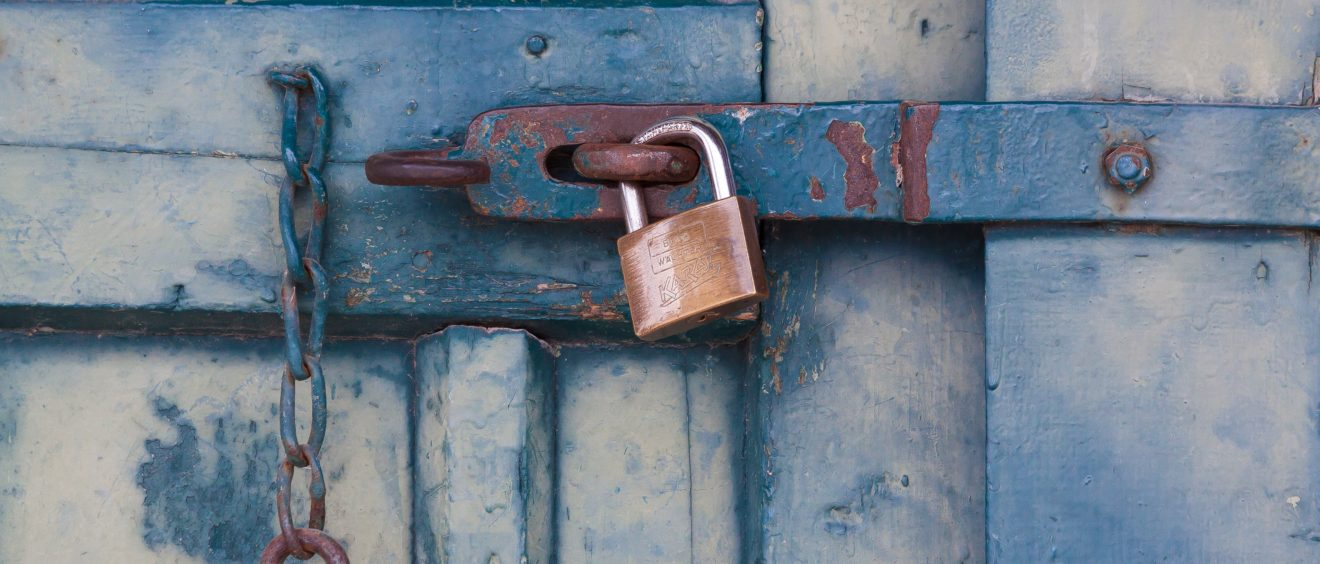 You wouldn't leave your belongings unlocked - don't leave your WordPress site open to security issues, either. (Image via Pexels)